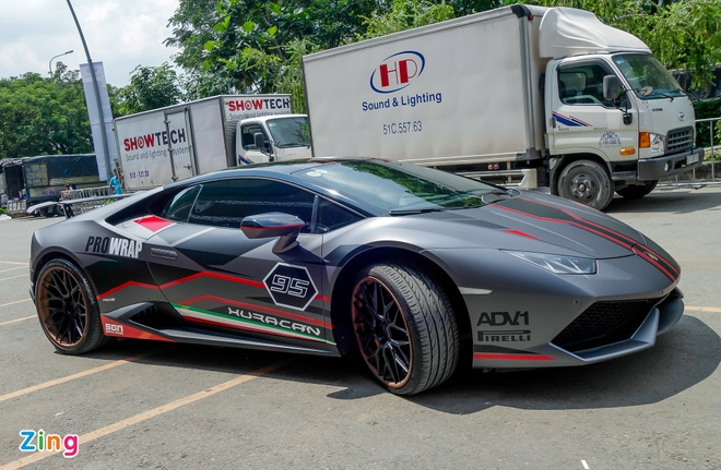 Lamborghini Huracan do la mat xuat hien gan trien lam xe VIMS hinh anh 7