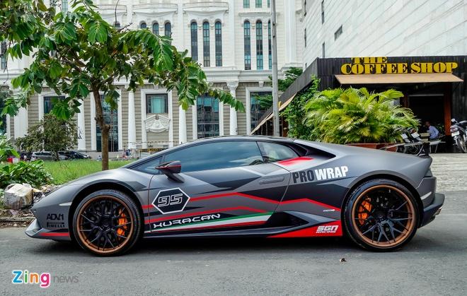 Lamborghini Huracan do la mat xuat hien gan trien lam xe VIMS hinh anh 8