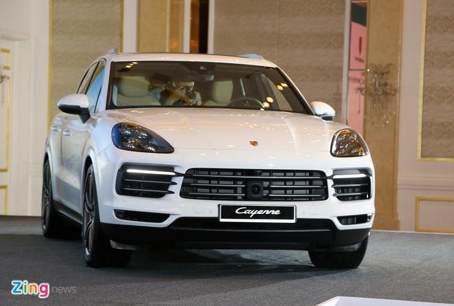 Porsche Cayenne 2018 ra mat tai Viet Nam, gia tu 4,5 ty dong hinh anh 1