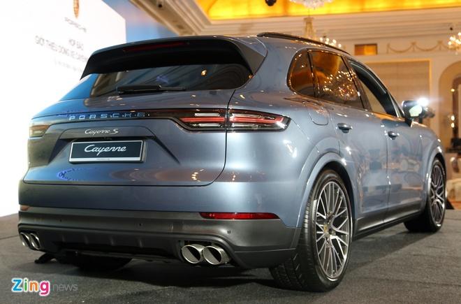 Porsche Cayenne 2018 ra mat tai Viet Nam, gia tu 4,5 ty dong hinh anh 3