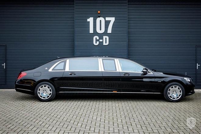 Mercedes-Maybach S600 Pullman gia 830.000 USD hinh anh