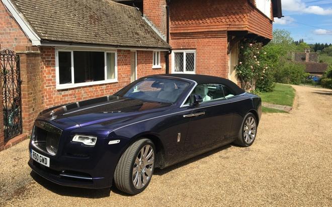 Rolls-Royce Dawn: Du thuyen mat dat hinh anh 1