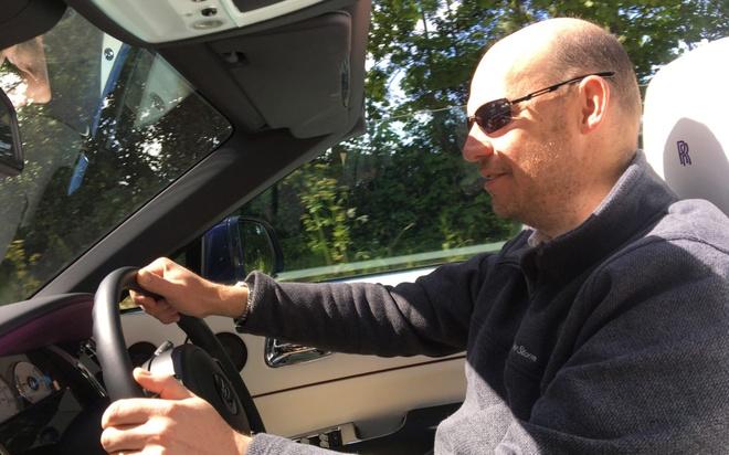 Rolls-Royce Dawn: Du thuyen mat dat hinh anh 2
