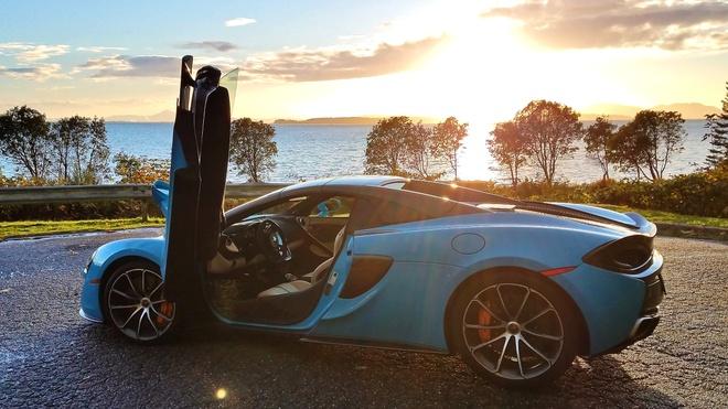Nhung 'noi kho' khi dung sieu xe McLaren 570S hinh anh 4