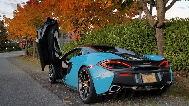 Nhung 'noi kho' khi dung sieu xe McLaren 570S hinh anh