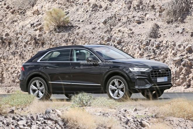 Day la Audi Q8 - doi thu cua BMW X6 vua lo dien khi chay thu hinh anh 1