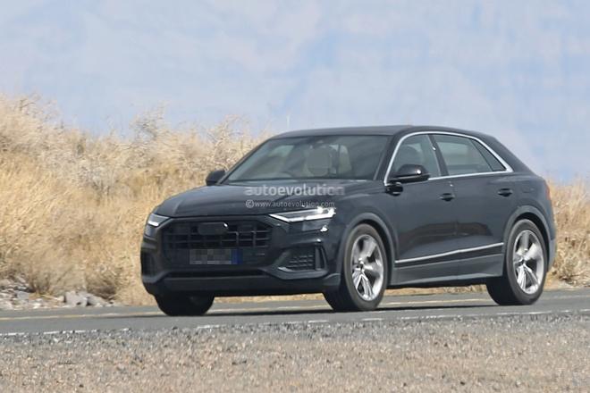 Day la Audi Q8 - doi thu cua BMW X6 vua lo dien khi chay thu hinh anh 6