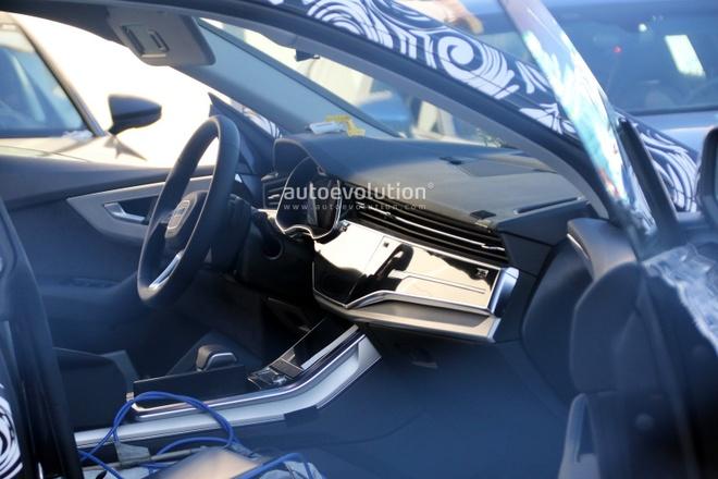 Day la Audi Q8 - doi thu cua BMW X6 vua lo dien khi chay thu hinh anh 5
