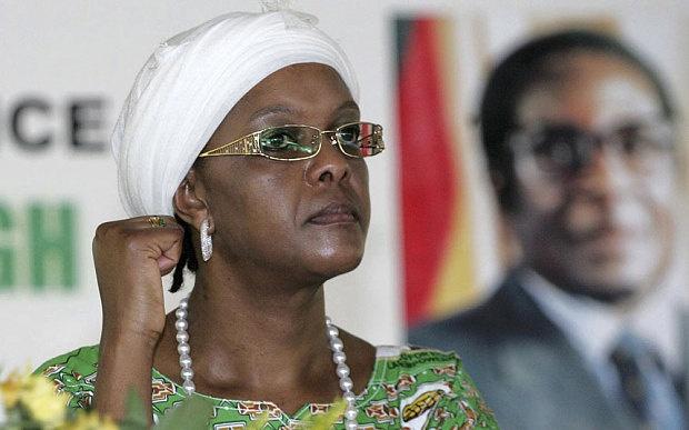 De nhat phu nhan Zimbabwe la nu hoang mua sam hang hieu hinh anh