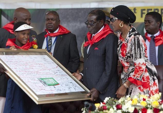 Sinh nhat trieu USD cua tong thong Zimbabwe hinh anh 5