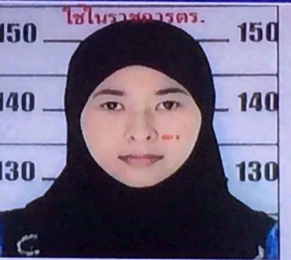 'Nu nghi pham danh bom Bangkok roi Thai cach day hai thang' hinh anh