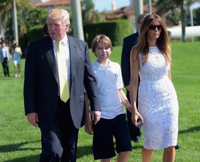 Nguoi vo sieu mau cua ung vien tong thong My Donald Trump hinh anh 2