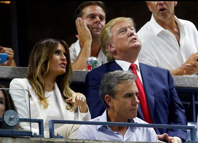 Nguoi vo sieu mau cua ung vien tong thong My Donald Trump hinh anh 1