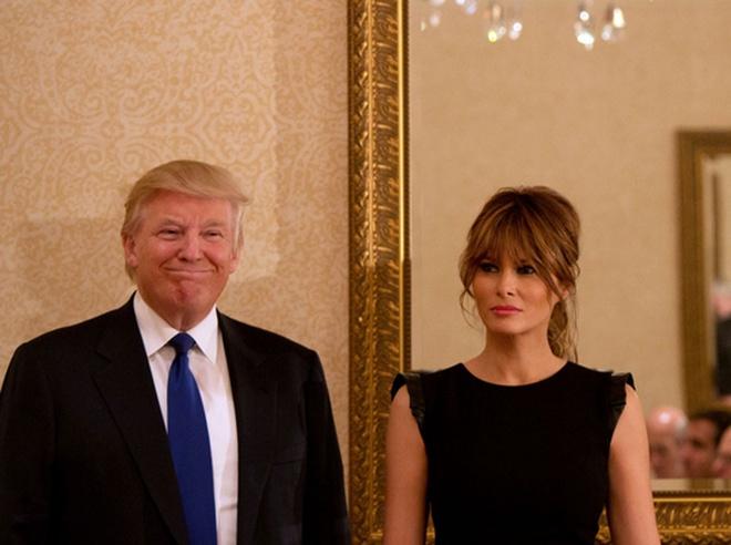 Nguoi vo sieu mau cua ung vien tong thong My Donald Trump hinh anh 3