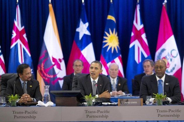 Obama tu tin Quoc hoi se phe chuan TPP hinh anh 1
