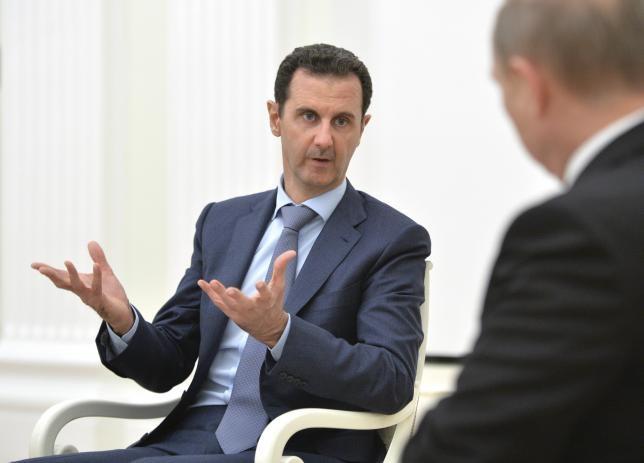 Tong thong Syria san sang tiep tuc tranh cu hinh anh
