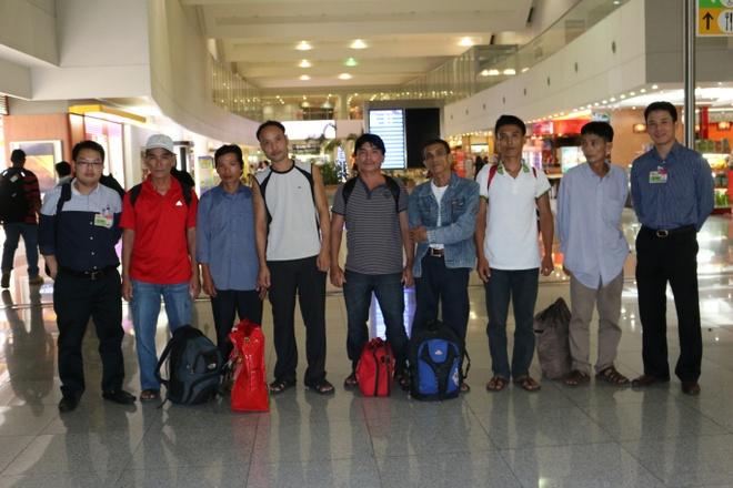 7 ngu dan Viet Nam bi bat tai Philippines ve nuoc hinh anh 1