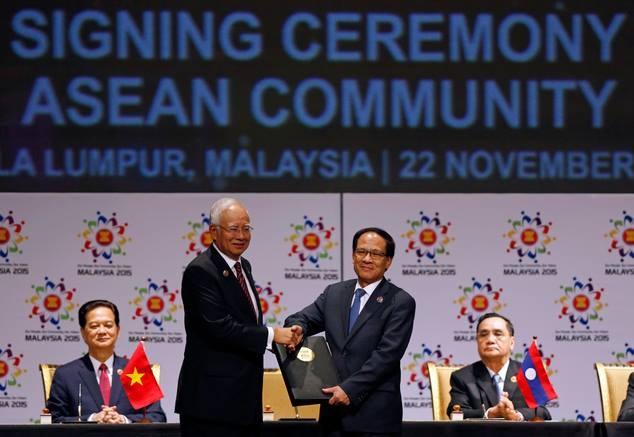 Cong dong ASEAN ra doi de thong nhat trong da dang hinh anh 1
