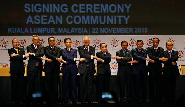 Cong dong ASEAN ra doi de thong nhat trong da dang hinh anh