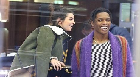 Kendall Jenner va 'ban trai' than mat khi di mua sam hinh anh