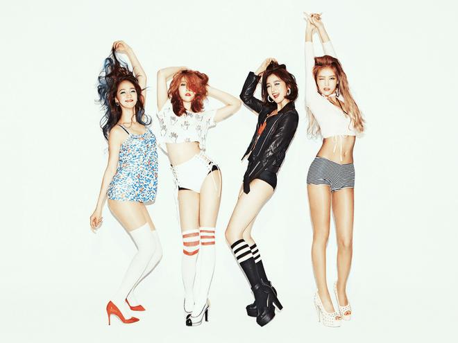 Wonder Girls tan ra anh 8