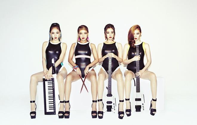 Wonder Girls tan ra anh 9