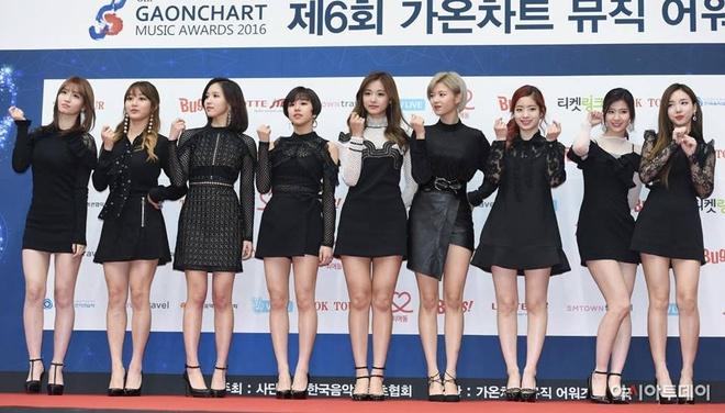 EXO,  Twice thang dam tai le trao giai Gaon anh 1