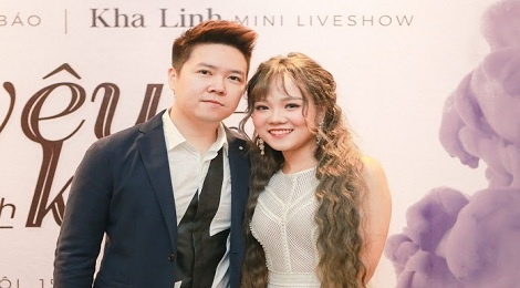 Kha Linh X-Factor mong duoc song ca cung Le Hieu hinh anh