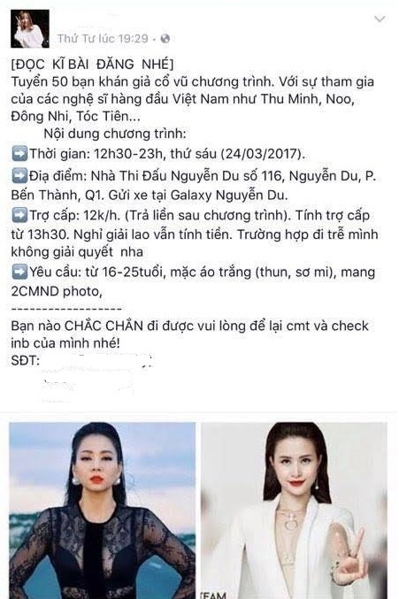 Dong Nhi thue fan tai The Voice anh 1