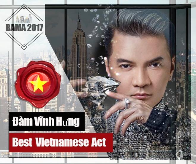 Mr. Dam, Cam Ly duoc de cu Nghe si Viet xuat sac nhat tai BAMA 2017 hinh anh 1