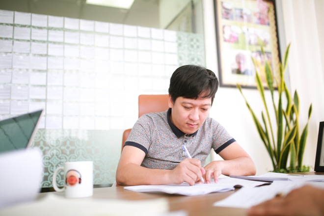 Truong Giang nham mat danh vo trong phim hai hanh dong moi anh 2