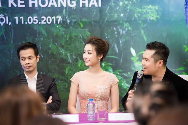 Do My Linh cung Hoa hau Phap lam vedette trong show Hoang Hai hinh anh 3