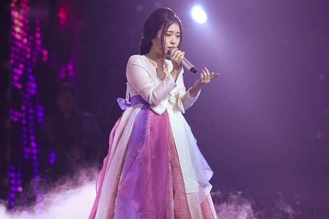 'Giong ca phi gioi tinh' Tung Anh bi Thu Minh loai khoi The Voice hinh anh 4