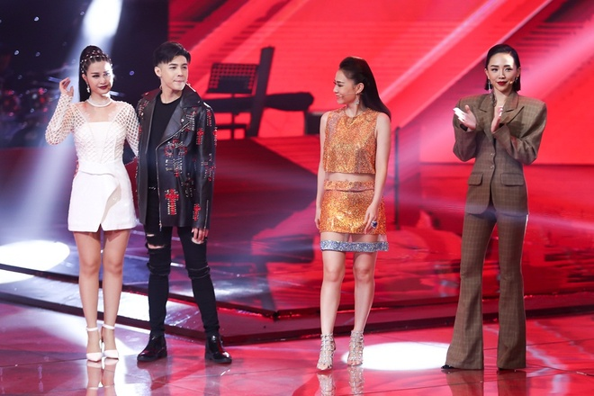 'Giong ca phi gioi tinh' Tung Anh bi Thu Minh loai khoi The Voice hinh anh 5