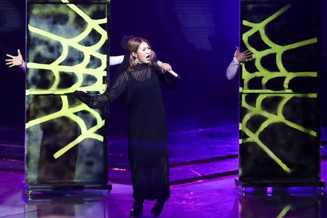 'Giong ca phi gioi tinh' Tung Anh bi Thu Minh loai khoi The Voice hinh anh 14