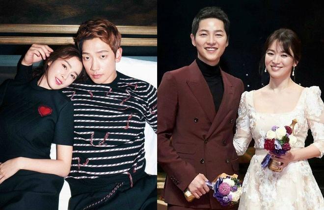 Do quyen luc cua Song Joong Ki - Song Hye Kyo va Bi Rain - Kim Tae Hee hinh anh