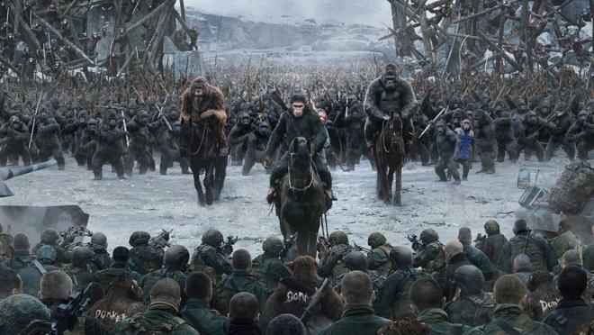 'War for the Planet of the Apes': Cuoc dau tri giua nguoi va khi hinh anh