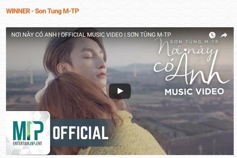Son Tung M-TP vuot G-Dragon, Taeyeon thang giai thuong am nhac