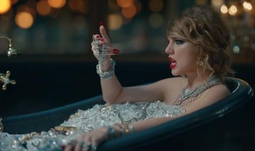Doi thu va tinh cu xuat hien trong MV moi cua Taylor Swift hinh anh