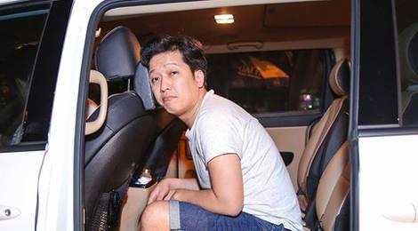 Xon xao clip Truong Giang tranh cai sau khi va cham xe trong dem hinh anh