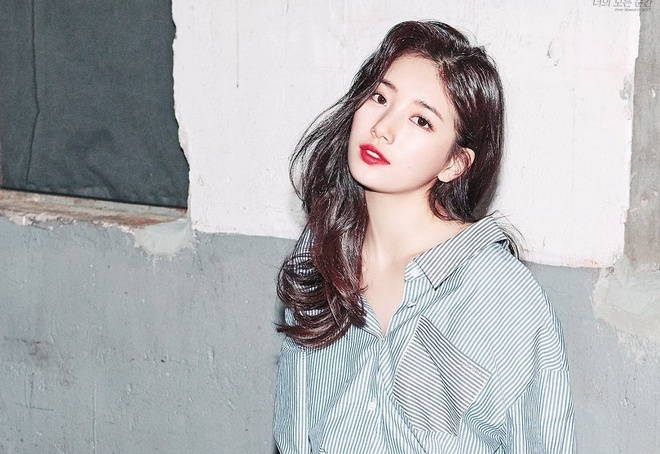 Yeu Lee Min Ho, 'tinh dau quoc dan' Suzy ngay cang quyen ru hinh anh