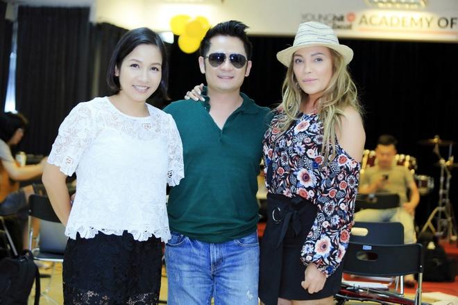 Bang Kieu, Thanh Ha tap luyen cho Dem tinh nhan 4 hinh anh 2