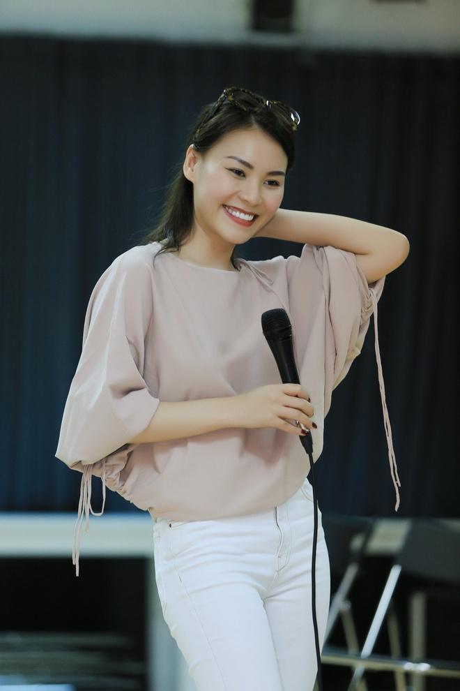 Bang Kieu, Thanh Ha tap luyen cho Dem tinh nhan 4 hinh anh 5