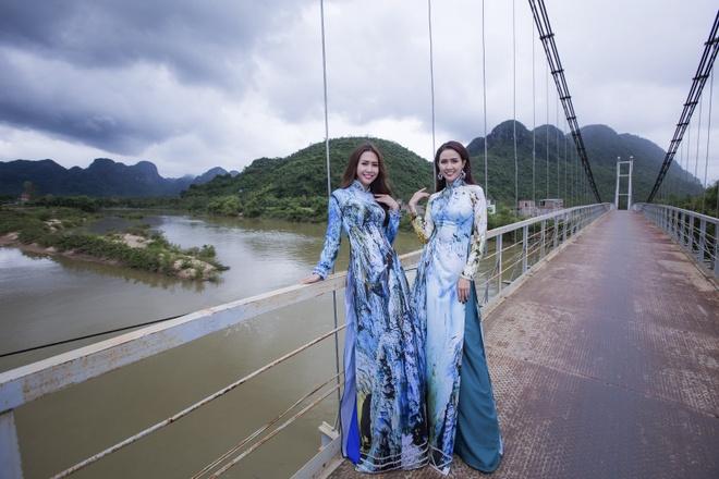 Trinh dien ao dai tai Lien hoan phim Viet Nam lan thu 20 hinh anh 1