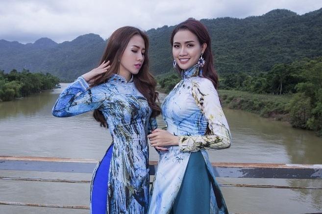 Trinh dien ao dai tai Lien hoan phim Viet Nam lan thu 20 hinh anh
