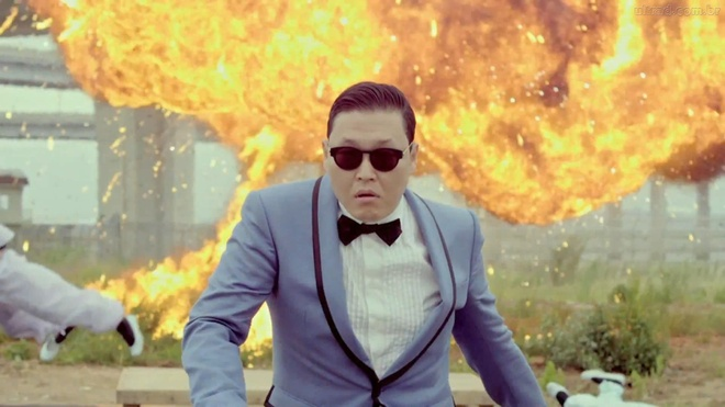'Gangnam Style' tro thanh MV Han Quoc dau tien dat 3 ty luot xem hinh anh