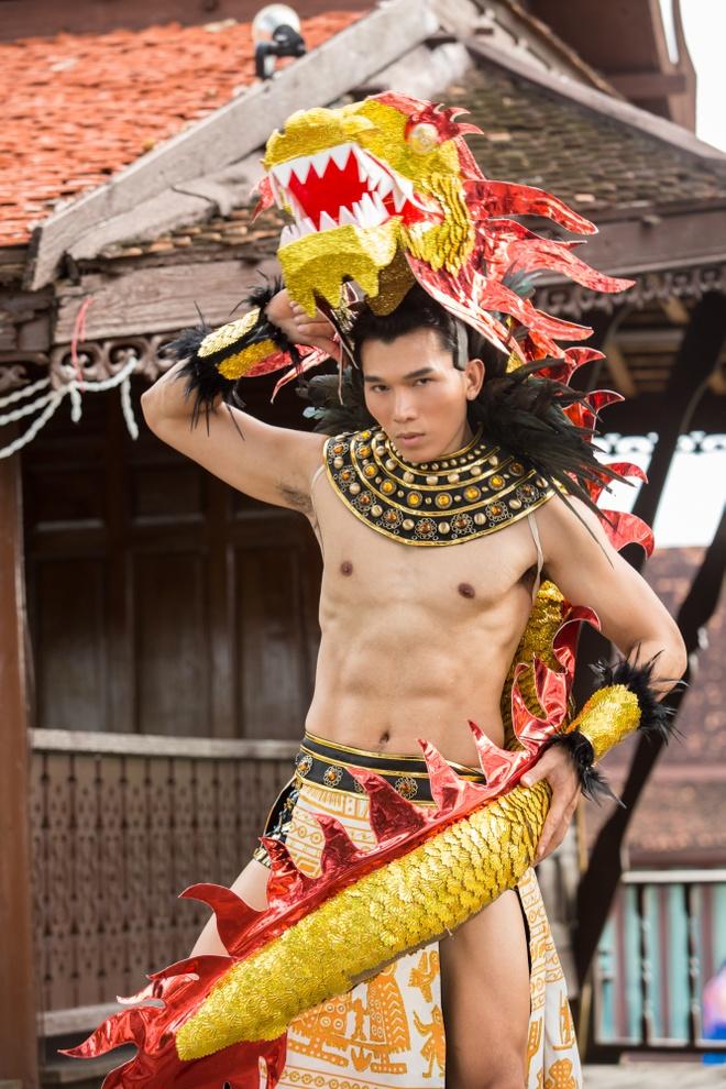 Truyen thong Thai Lan khen ngoi Ngoc Tinh truoc dem chung ket Manhunt hinh anh 1
