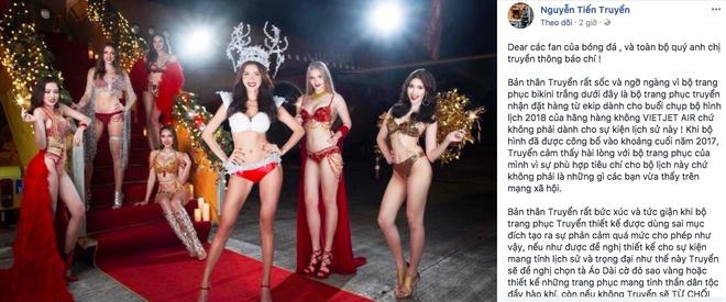 Tai sao bo bikini xuat hien tren chuyen bay cho U23 VN? hinh anh 1