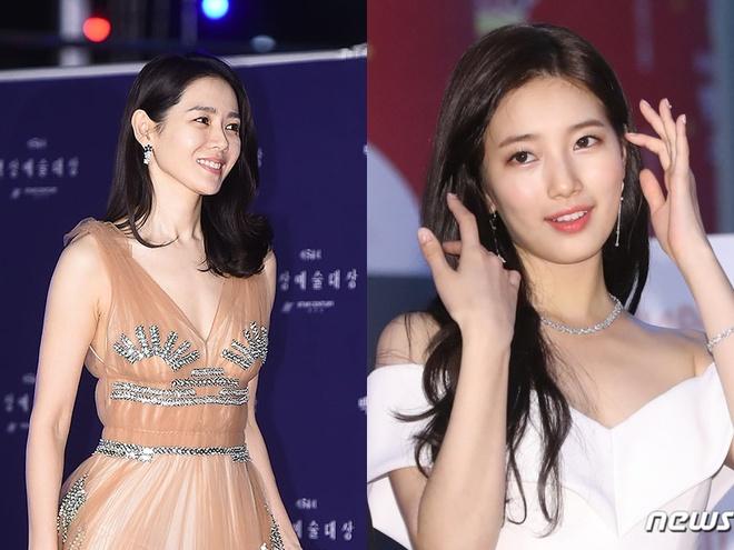 'Chi dep' Son Ye Jin lan at cac 'nu than nhan sac' tren tham do hinh anh