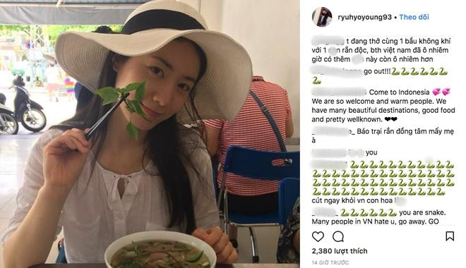 Nu ca si Han Quoc bi fan Viet chui boi khi den Da Nang hinh anh 1